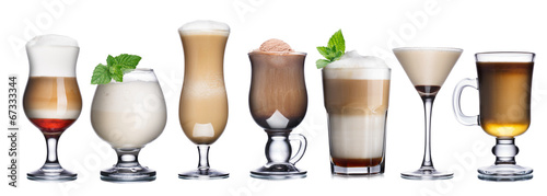 Coffee cocktails collection #67333344