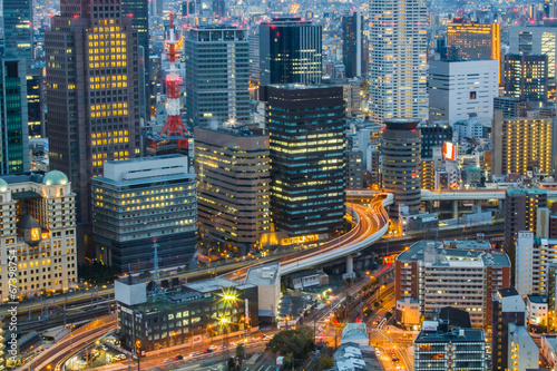 Osaka Skyline Kansai , Japan