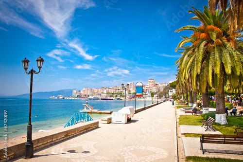 Fotografia Promenade in Saranda, Albania.