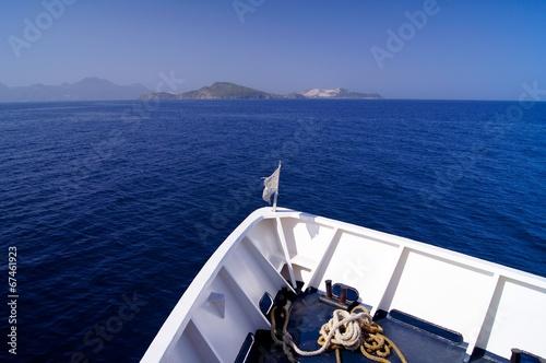 Stampa su Tela Prow of ship