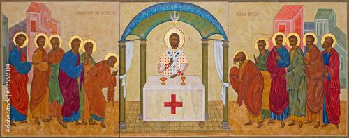 Fotografie, Obraz Mechelen - orthodox icon of Communion the Apsotle