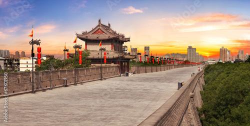 City wall in Xian