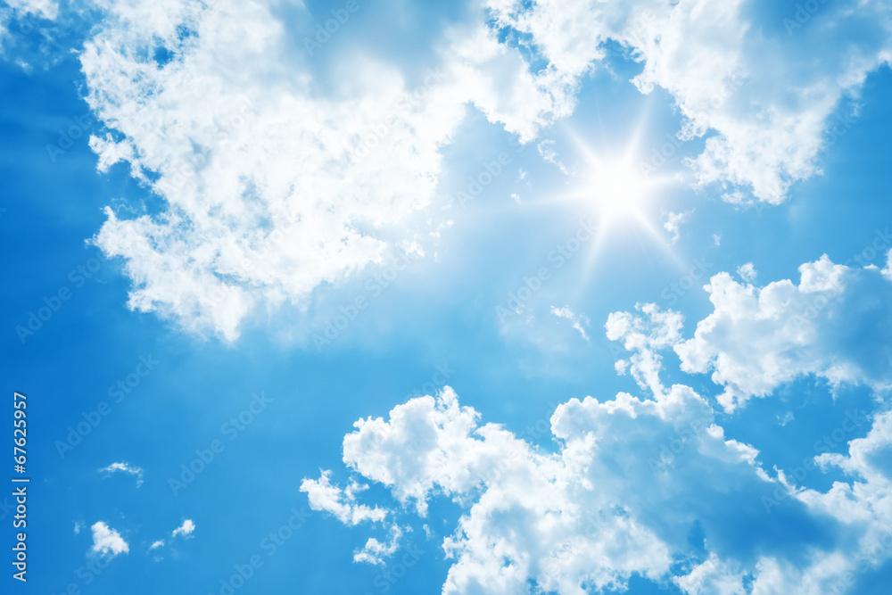 jasne słońce <span>plik: #67625957   autor: magann</span>