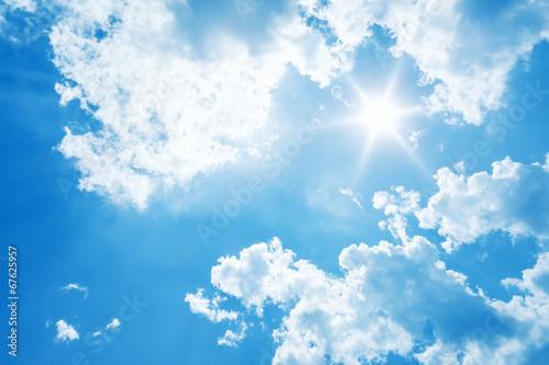 jasne słońce