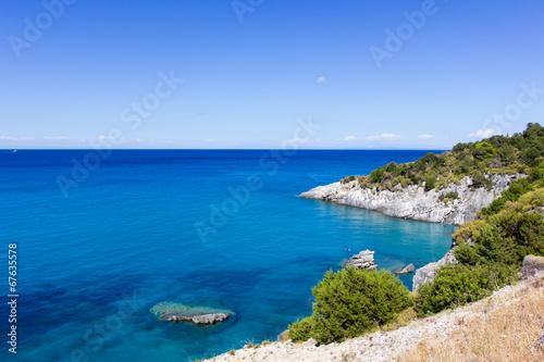 Obraz na plátně landscape of zante island,Greece