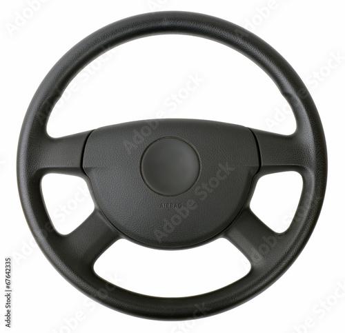 steering wheel Fototapet