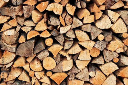 Fototapeta Stack of firewood