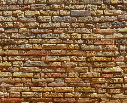 Stara zabytkowa ściana
