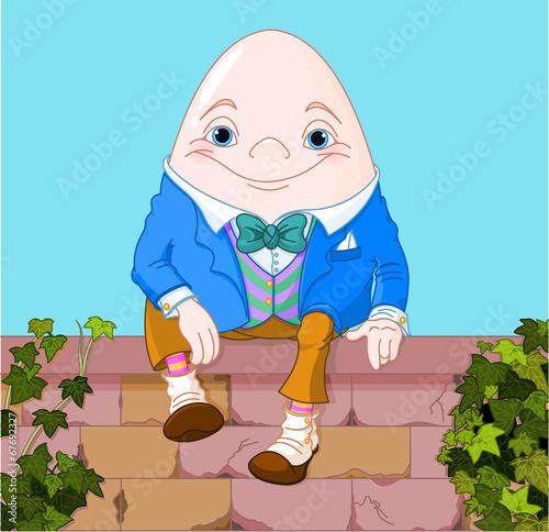 Wallpaper Mural Humpty Dumpty