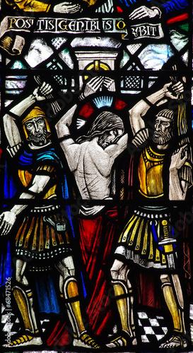 Canvastavla Flagellation of Jesus Christ