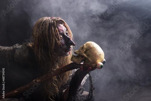 Fotografia, Obraz Mysteriöse Hexe