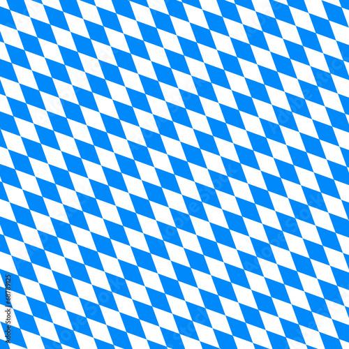 Cuadros en Lienzo Muster Bayern quer - Oktoberfest
