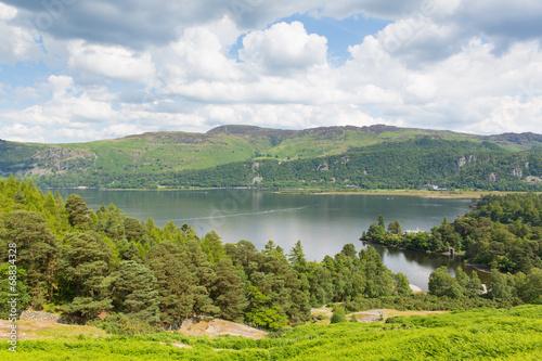 Photo Brandelhow Bay Derwent water Lake District Cumbria England UK