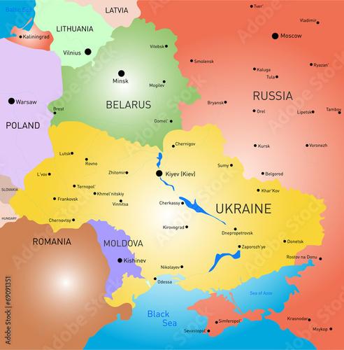 Photo Belarus and Ukraine country