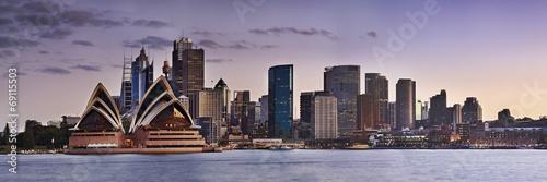 Sydney CBD Kirribilli close panorama