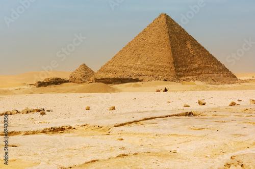 The pyramids at Giza #69430156