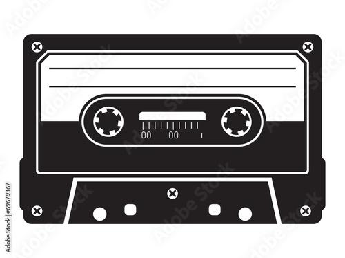 Fotografie, Obraz Cassette tape