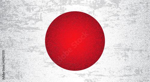 Japan Flag Art Background #69827551