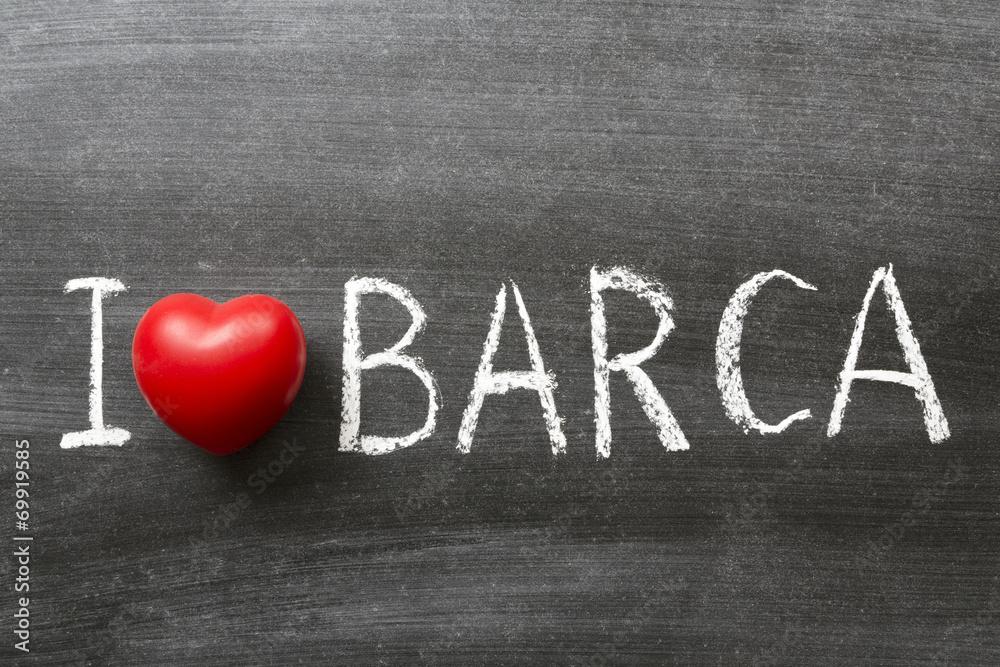 I love Barca