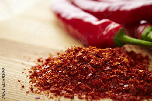 Canvas Print chili pepper