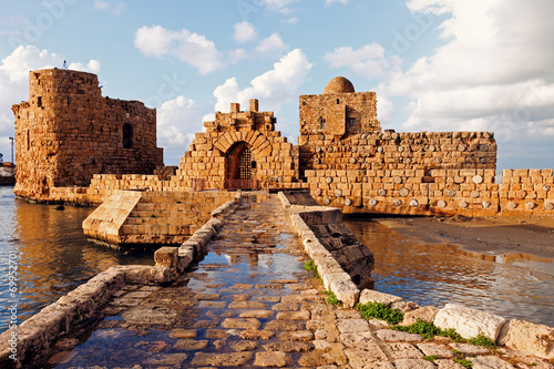 Fototapeta premium Sidon Sea Castle