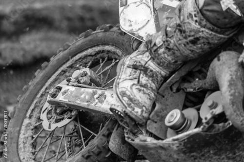 Fototapeta premium Motocross
