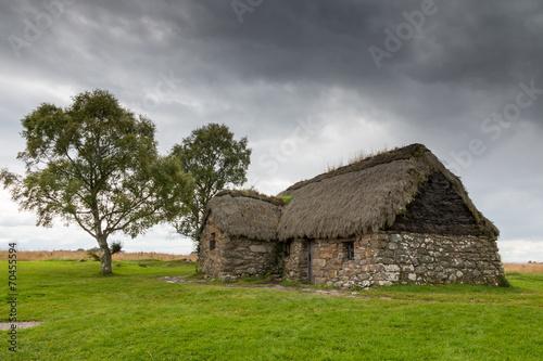 Cottage at Culloden Battlefield Fototapeta