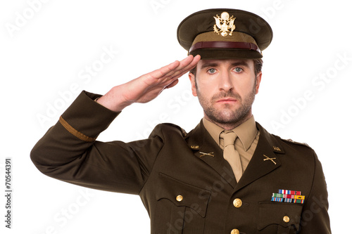 Fotografia, Obraz I salute my country !