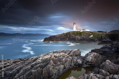 Canvas Print Fanad Head Lighthouse IX