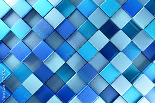 Niebieskie bloki streszczenie tło