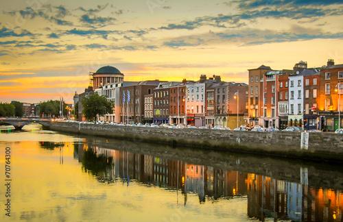 Canvas Print Irland-Dublin