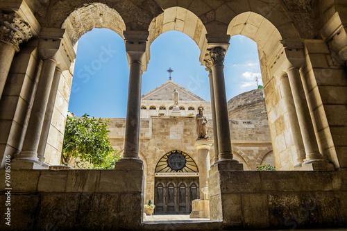 Photographie Vue de l'église de la Nativité Bethléem