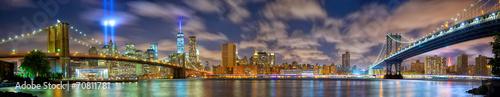 Obraz na płótnie Panorama Manhattanu