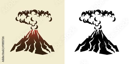 Fotografie, Obraz volcano