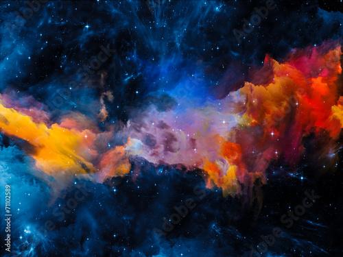 Canvas Print Evolving Nebula