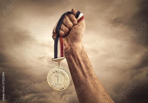 Canvas Print Award of Victory