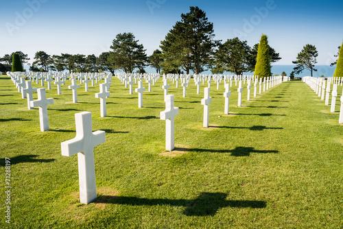 Photo American War Cemetery near Omaha Beach, Normandy (Colleville-sur