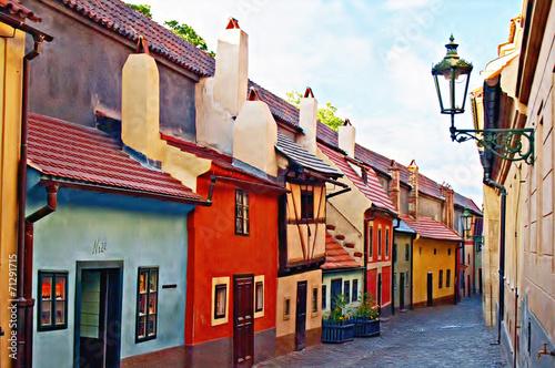 Carta da parati Golden Lane, Prague castle