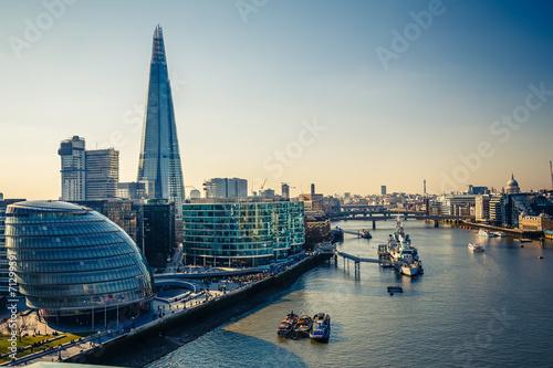 Fotografija Thames and London City