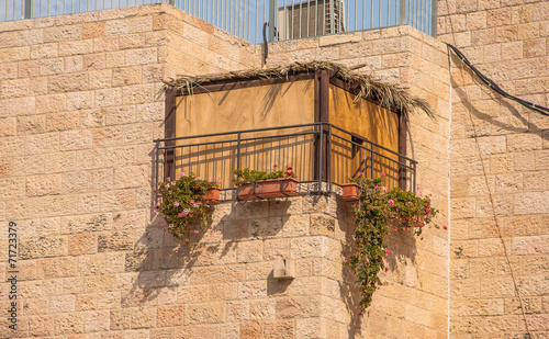 Jewish national religious holiday of Sukkot
