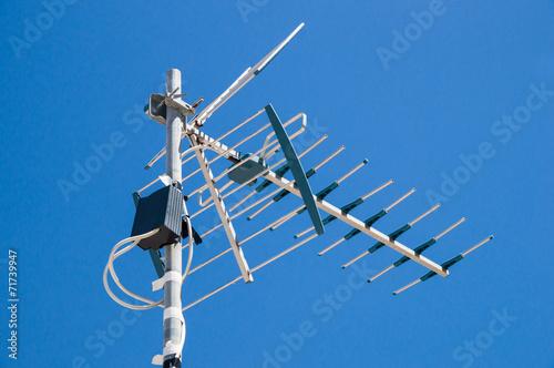 Obraz na płótnie tv antenna