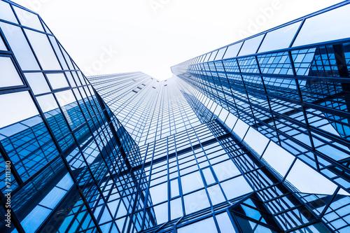 Hochhaus - modernes Bürogebäude - Frankfurt