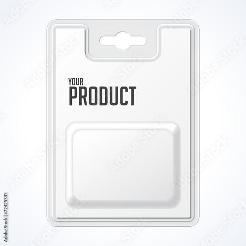 Plastic Transparent Blister With Hang Slot Fototapet