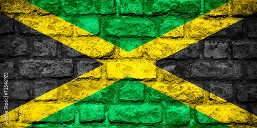 Fototapeta flag of Jamaica