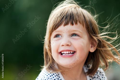 Fototapeta laughing girl