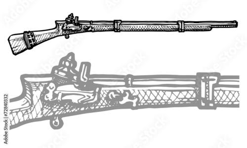 Obraz na plátně old musket