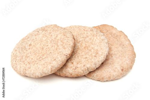 Vászonkép Whole wheat pita bread