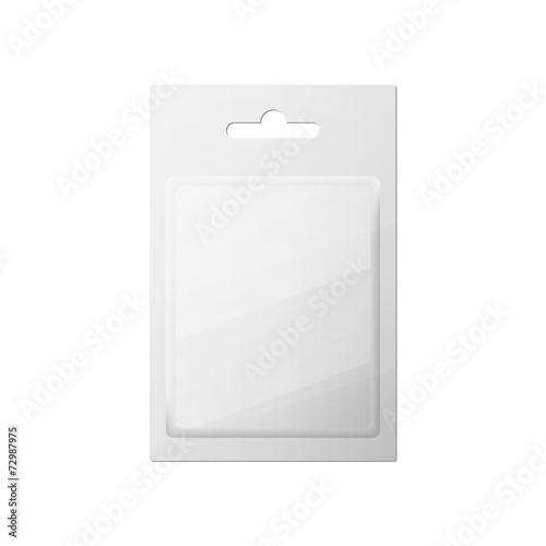 Fotografie, Tablou Plastic Transparent Blister With Hang Slot