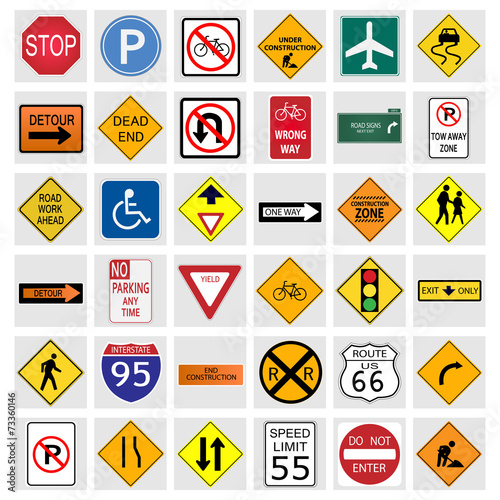 Photo Road Signs
