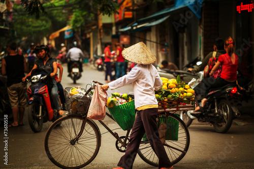 Fotografia Vietnamese people. Hanoi
